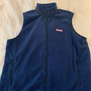 Vineyard Vines Navy Blue Vest